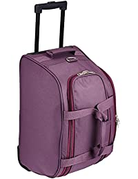 PRONTO Sofia Polyester 61 cms Purple Travel Duffle (6452-PP)