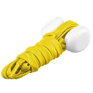 Lilware Dare to to Be Visible Shoelaces Schnürsenkel Mit LED Blinklicht Licht. Farbe: Gelb