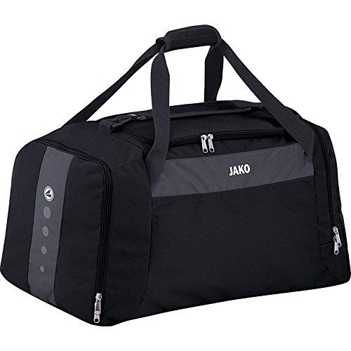 JAKO Sporttasche Striker, Größe:Senior, Farbe:schwarz/grau