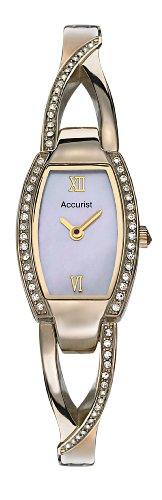 Accurist LB1213 - Reloj de mujer de cuarzo color oro