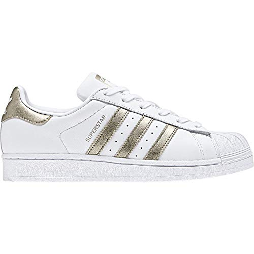 the latest 0356f 2e652 adidas Superstar, Zapatillas de Gimnasia para Mujer, Blanco Cyber Met. FTWR  White