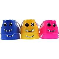 BESPORTBLE 12 Piezas Zancos de Cubo para Niños Tazas para Caminar Zancos Juego de Coordinación de Equilibrio de Plástico Juguete de Equilibrio de Juguete para El Hogar Y La Escuela