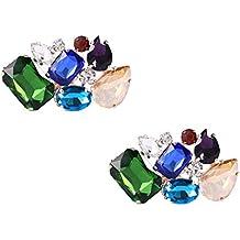 fiesta zapatos matrimonio con Clip decorativo dije zapatos para para o cristales coloridos de qqwRf