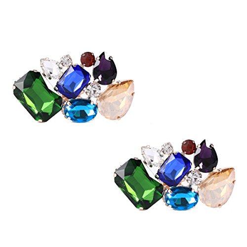 3f9b355efcca Clip decorativo para zapatos con coloridos cristales