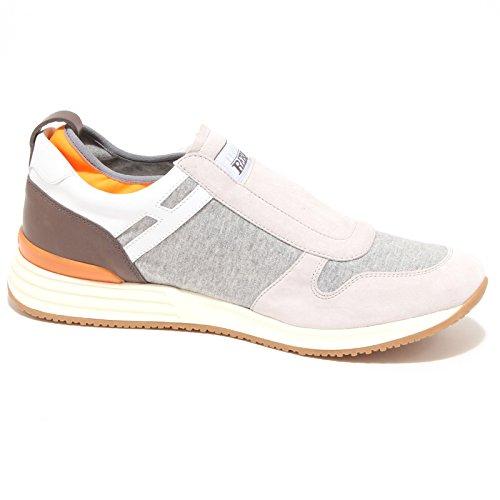 90281 sneaker HOGAN REBEL R218 MODELLO STRAP scarpa uomo shoes men grigio/ghiaccio/tortora Profesional De Salida Entrega Rápida Precio Barato Barato Venta Nuevo Nuevo Precio Barato Unisex sFJZr