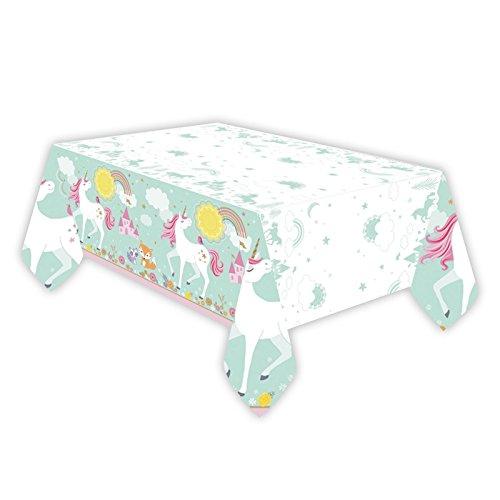 Magical Unicorn Plastic Tableclo...