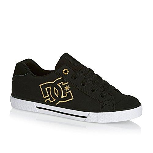 DC - Sneaker DCSHOES-SHOES-CHARACTER KIDS SHOE-D0301094B-WHITE/SOFT LIME-white, Bambino Nero
