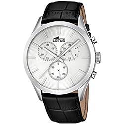 Lotus 18119_1 - Reloj Analógico Para Hombre, color Gris/Negro