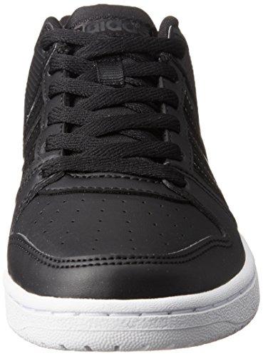 adidas Vs Hoopster W, Chaussures de Gymnastique Femme Nero (Negbas/Negbas/Ftwbla)