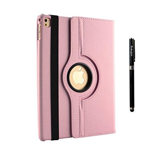 inShang iPad Pro 9.7 Custodia per Apple IPAD Pro 9.7 inch (2016) Cover case in (Fatto A Mano Fiore Di Carta Semi)