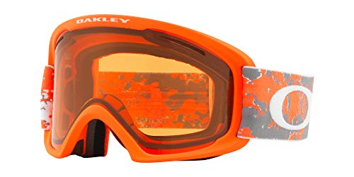 Oakley O Rahmen 2.0Asian Fit Snow Goggle, Arctic Fraktur orange, groß