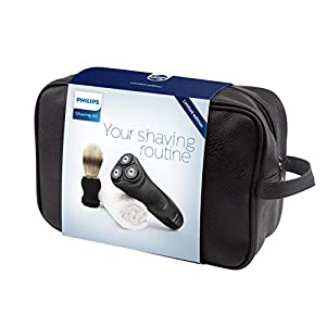 Philips AquaTouch Wet & Dry Men's Electric Shaver AT899 Limited Edition Gift Set with Travel Bag