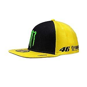 VR46 Herren Rossi Flat Sponsor Cap, Yellow, One size