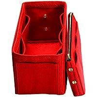 Inserto personalizzabile della borsa (sacchetto in feltro rimovibile da 3 mm con cerniera in metallo), organizer in borsa di feltro