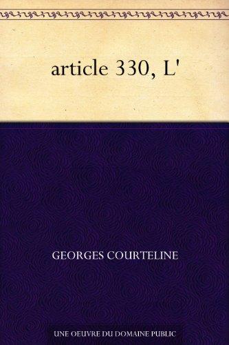 article 330, L' par Georges Courteline