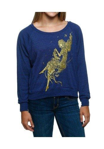 Womens Natural Beauty Pullover Medium (Medium Sweatshirt Natural)