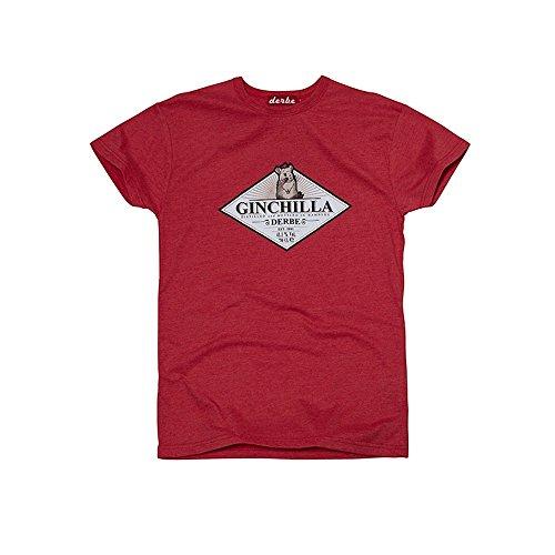 Derbe Ginchilla - T-Shirt Red Melange