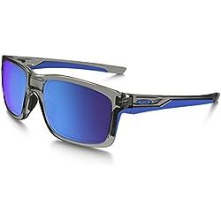 Oakley 9264 926403 Mainlink 926403 Gafas de sol, Wayfarer, 57, Grey Ink
