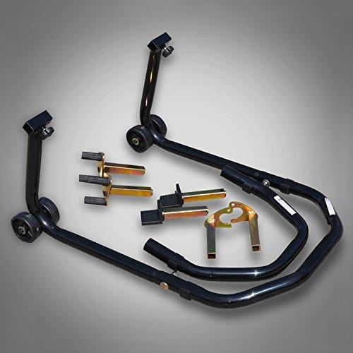 AIOW RicambiWeiss Montageständer Front oder Heckständer Universal Motorradständer Motorrad Heber...