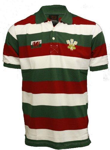 ORIGIN MENSWEARHerren Poloshirt - Green & White & Red