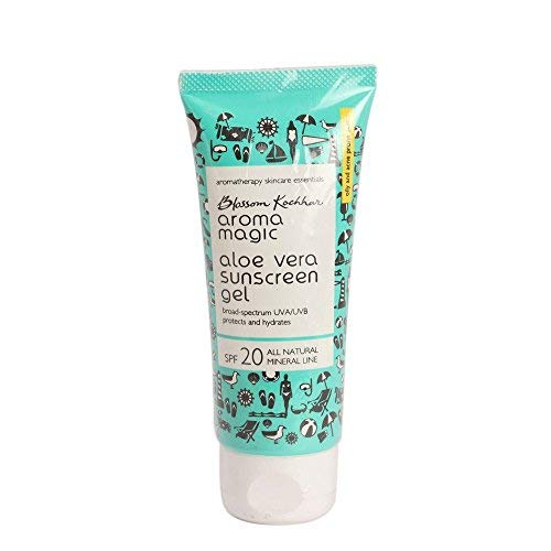 Aroma Magic Aloe Vera Sun Screen Gel, SPF 20, 50ml