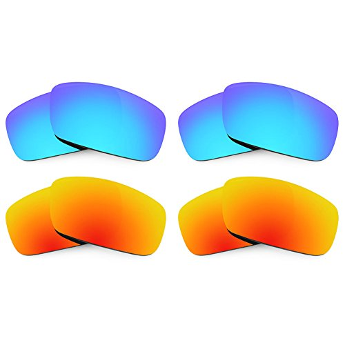 Revant Ersatzlinsen für Spy Optic Logan Polarisiert 4 Paar Kombipack K022