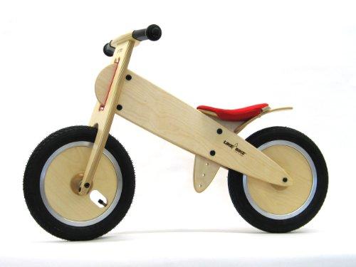 Preisvergleich Produktbild LIKEaBIKE mountain -Ledersattel rot- (KOKUA Like a Bike Leder)