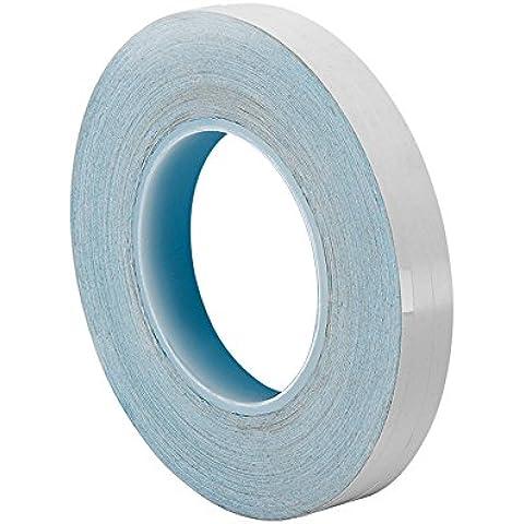 TapeCase 8805 1,80 (0,71 cm, 3 m x 3 m, colore: bianco, 36yd 8805 polimero acrilico adesivo conduttore-Nastro a trasferimento termico, spessore (0,005 0,01 cm, lunghezza 36 yd., 1,80 (0,71 cm larghezza - 3 A Trasferimento Termico Bianco