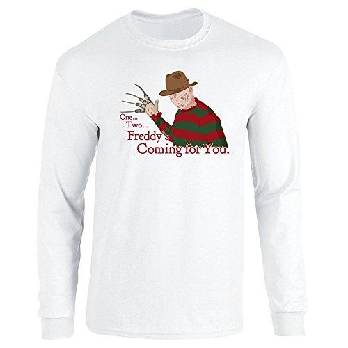 Pop Threads Herren T-Shirt Gr. Small, weiß