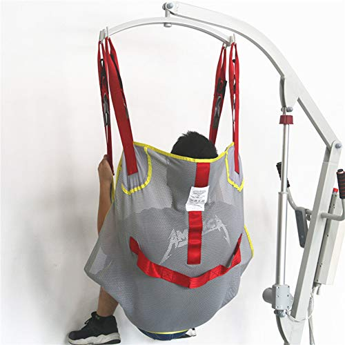 41bpX4zrObL - Hmlopx Paciente Levantar Aseo Honda Silla con Cuatro Punto Apoyo Cuerpo Completo Honda Bariátrico Desventaja Transferir Cinturón