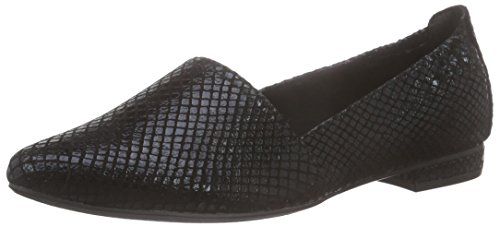 Tamaris 24202, Damen Slipper, Schwarz (BLACK STRUCT. 006), 38 EU
