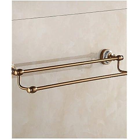 HanMei accessori per bagno portasciugamani cromato contemporanea europea in rame