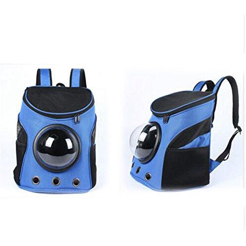 etbotu atmungsaktiv Kapsel Pet Rucksack Carrier Travel Bags für Katze Hund Puppy Kleine Tiere blau