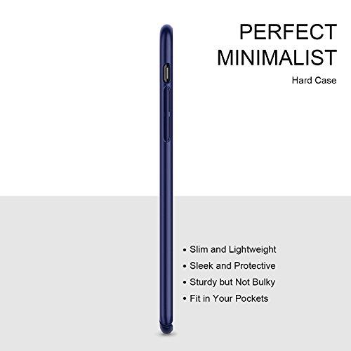 Cover-iPhone-X-HUMIXX-Custodia-Ultra-Sottile-Anti-Graffio-e-Resistente-Alle-Impronte-Digitali-Caso-Della-Copertura-Protettiva-in-Plastica-Difficile-Skin-Series
