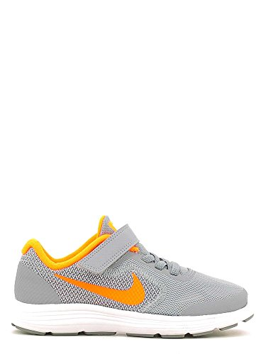 Nike Revolution 3 (Psv), Scarpe da Corsa Bambino Nero (Stealth / Total Orange-White)