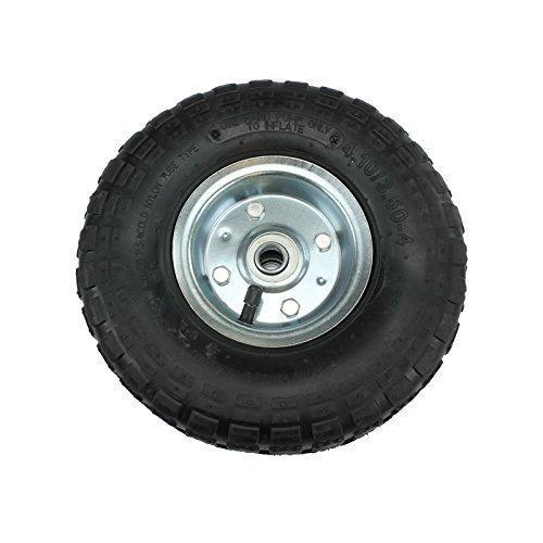 Pneumatische Rad (First4Spares pneumatische Räder 25cm (2 Stück) für Sackkarren Trolleys Schubkarre)
