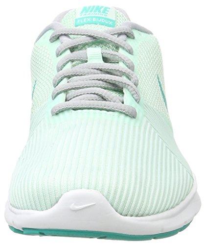 Nike Damen Flex Bijoux Hallenschuhe Mehrfarbig (igloo / Clear Jade-wolf Grey)