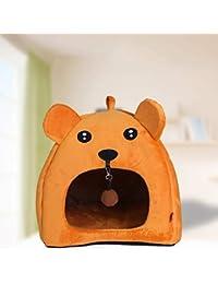 berrose de New plegable mascotas Casa & cama perro gato Soft Kennel Mat Pad Warmer Cachorro