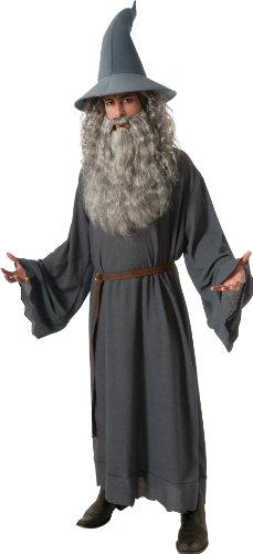 Gandalf Herrenkostüm aus Herr der Ringe, Größe:M/L (Der Hobbit Erwachsenen Gandalf Hut)