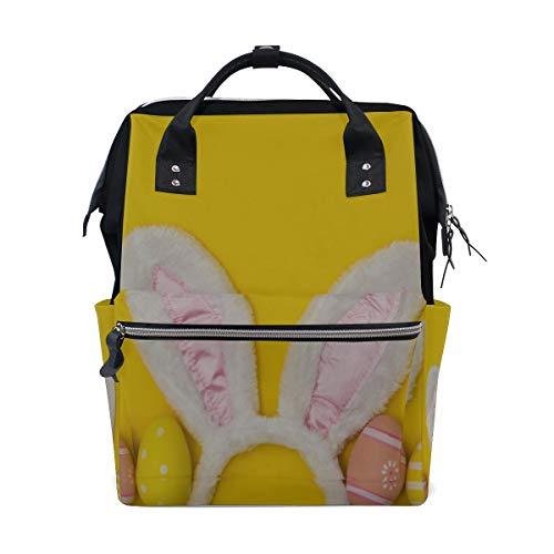 Doppel Hasenohren Kawaii Nette Große Kapazität Wickeltaschen Mama Rucksack Multi Funktionen Windel Pflegetasche Tote Handtasche Für Kinder Babypflege Reise Täglichen Frauen