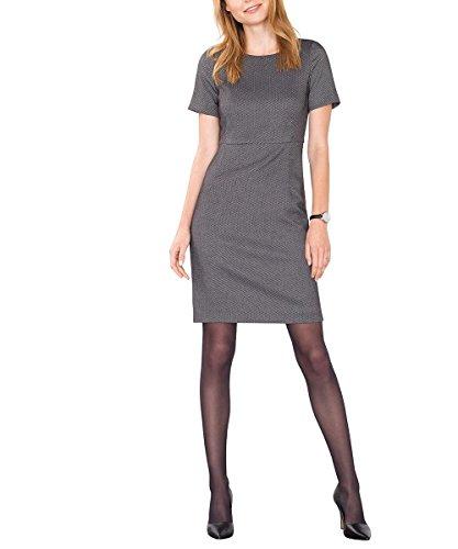 Esprit 106Eo1E008-Regular Fit, Vestito Donna Nero (black 001)