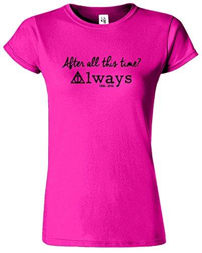 Harry Potter Womens T-shirt Reliques de la Mort Crewneck Top Tee Heliconia / Noir Design