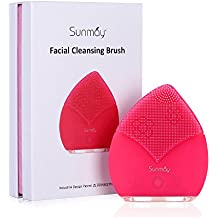 SUNMAY Spazzola per la pulizia del viso con Massaggiatore elettrico
