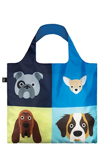LOQI Artist Stephen Cheetham Dogs Bag Strandtasche a256614a4f