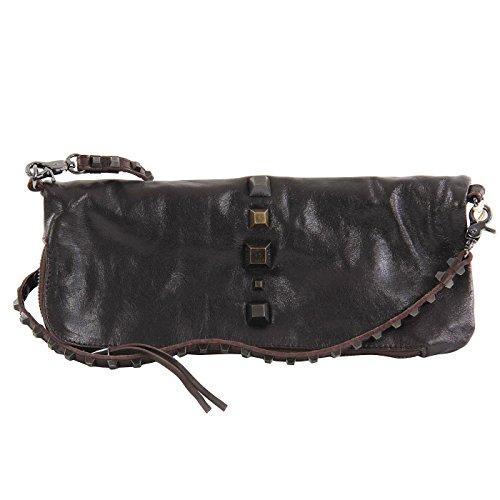 DIESEL Damen Leder Closely Tasche Clutch ESTYMAE II Dark Brown B02224