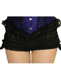 Yummy Bee Schlüpfer Rüschen Höschen Hot Pants Kostüm Damen Dessous Größe 34 - 54