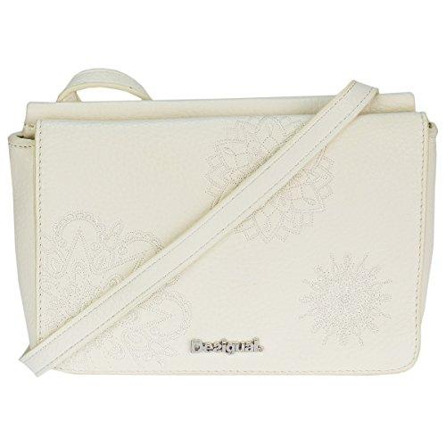 Desigual Umhängetasche Schultertasche Shoulder Bag BOLS DALLAS ALEX 72X9ER2 Vainilla (Weiß)