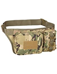 Generic Outdoor Sports Waist Bag 3P Molle Camouflage Phone Bag Utility Pack Pouch Camping Hiking
