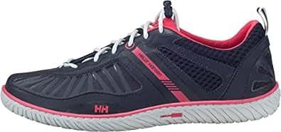 Helly Hansen W HYDROPOWER 4 Damen Bootsportschuhe, Blau (598 Navy/MAGENTA/Silver Wh), 37 EU