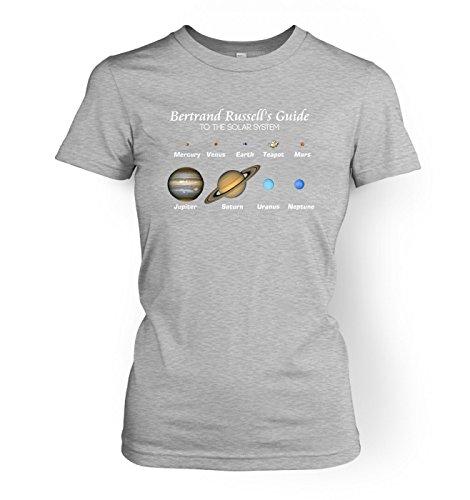 Grey Bekleidung Für Erwachsene Tee (Science tshirts by Something GeekyDamen  BlusenkleidT-Shirt Grau Sport Grey)